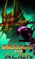 Dragon vs Alien (240x400)