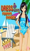 Dress Up Down Poonam Pandey - Game(240x400)