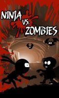 Ninja Vs Zombies - бесплатно (240 X 400)