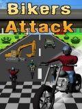 Bikers Attack