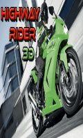Highway Rider 3D - (240 X 400)