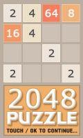 2048パズルゲーム(240×400)
