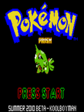 Pokemon Prism 2010 Summer Beta