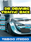 الدكتور القيادة سباق المرور