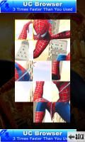 Jigsaw With Spider Man (240x400) Java Game - Download for