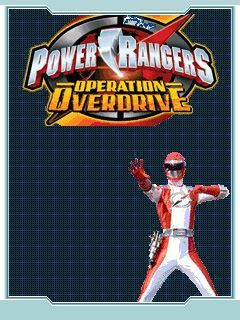 Power Rangers: Operation Overdrive - 240X320 Java Game - Download