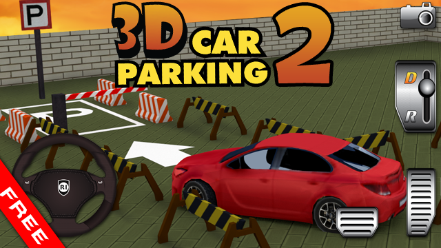 3D Car Parking 2 320x240 Java Game - Download for free on