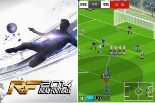 Real Football 2014 Java Game - Download for free on PHONEKY