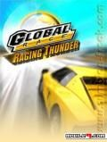 Global Race Raging Thunder signed