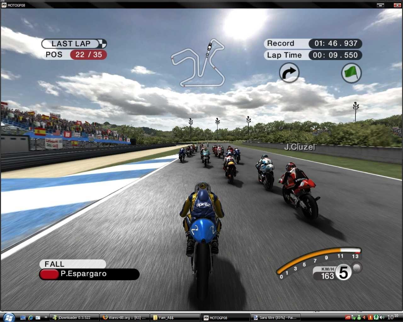 motogp 09 Touch screen Symbian Game - Screenshots