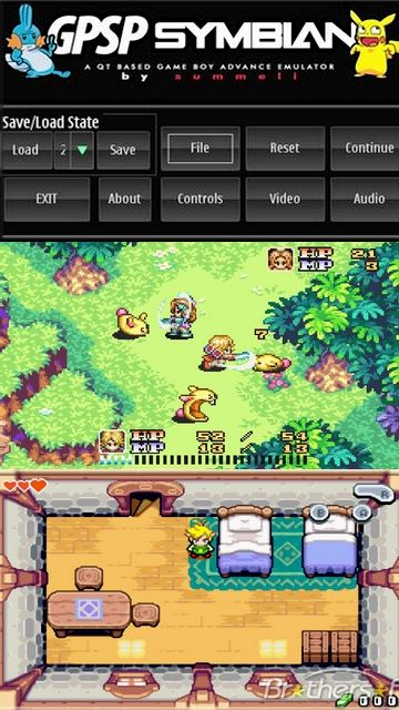 GPSP The Gba Emulator For Symbian S60v5th Symbian Game