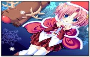 क्रिसमस Anime लड़की