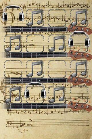 संगीत नोट शेल्फ