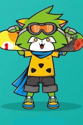 Skate Raccoon