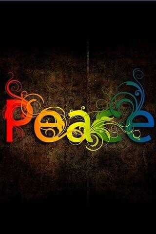 रंगीन शांति