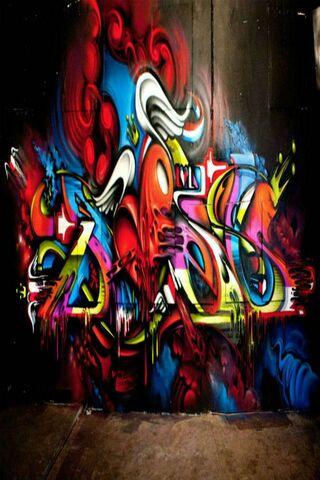 Bức tường graffiti