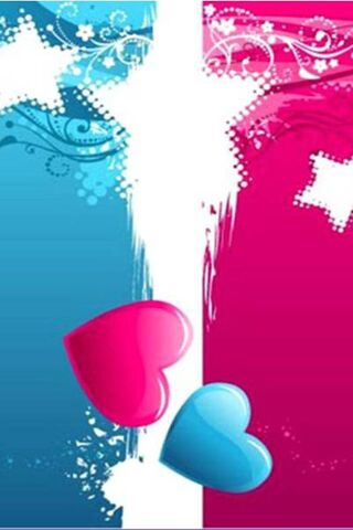 Pink and Blue Love