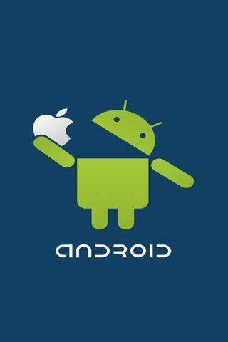 Android Jedz Apple
