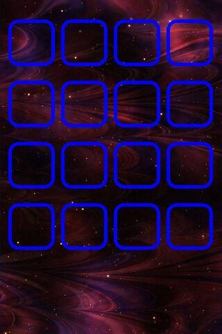 होम स्क्रीन ब्लू