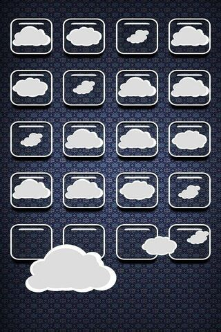 Icons and Clouds