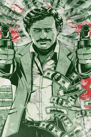Pablo Escobar Money