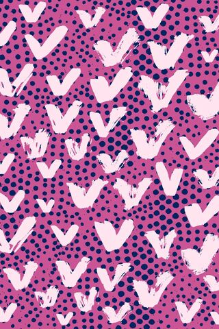 Polka Dots and Vs