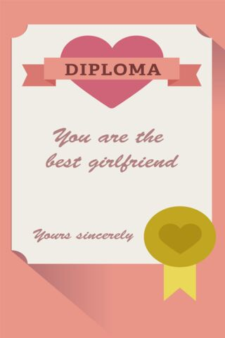 Diploma Girlfriend