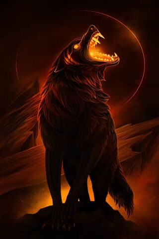ذئب النار