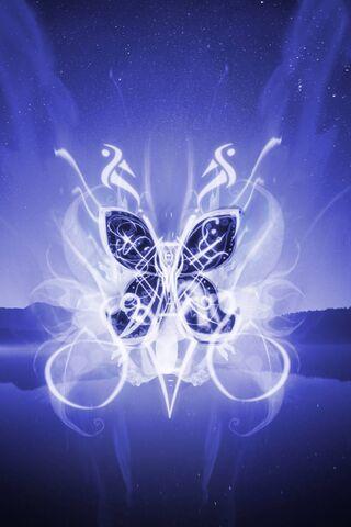 मुग्ध तितली