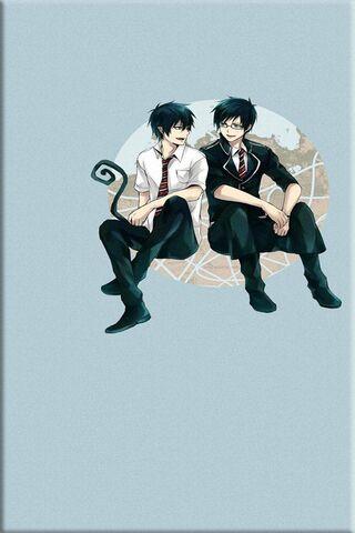 Rin et Yukio