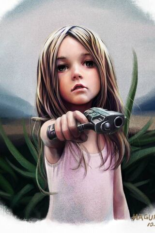 Girl and Gun
