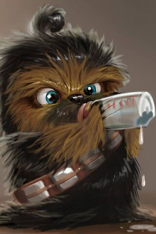 Baby Chewbacca