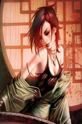 काल्पनिक लड़की