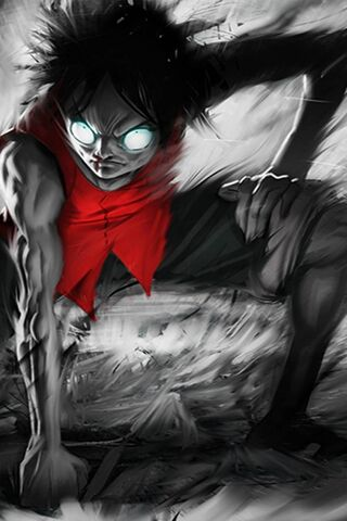 Luffy Second Gear