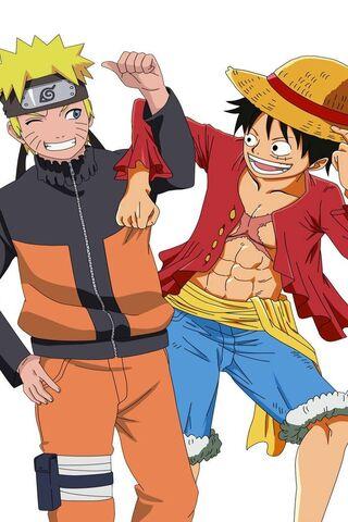 Naruto-Luffy