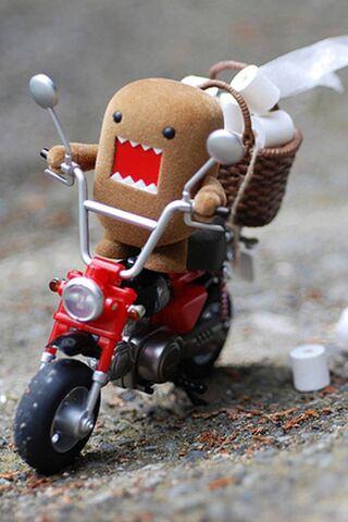 Domo Kun Motorcycle
