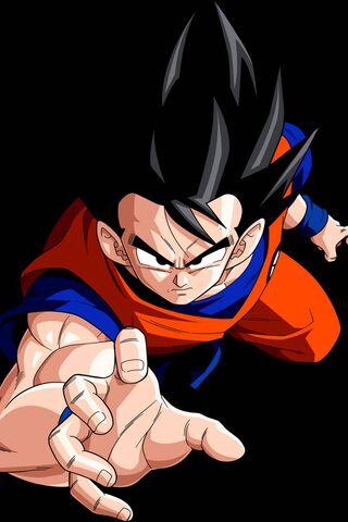 Goku Into Action