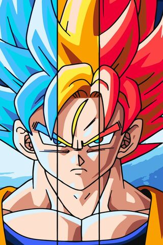 Goku multiforme