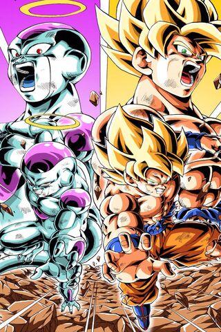 Goku et Frieza