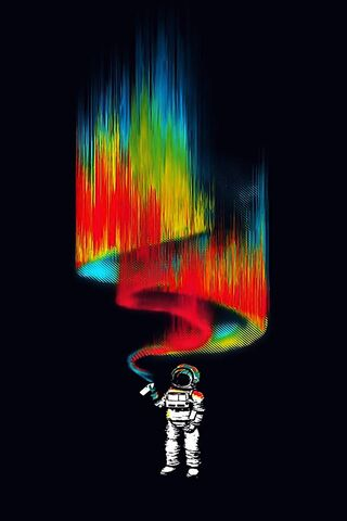 अंतरिक्ष यात्री का रंग