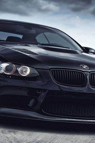 Bmw-M3-Black-Car