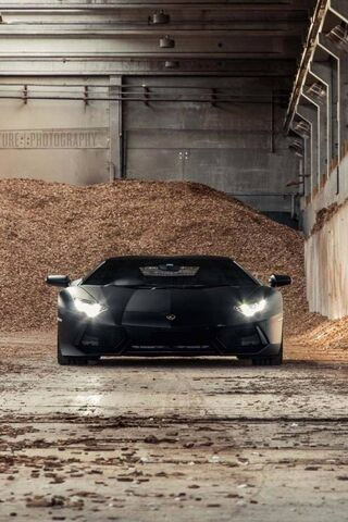Lamborghini đen