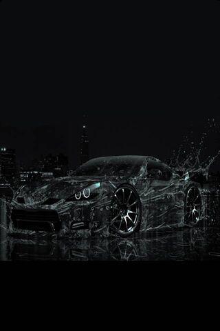 Black Water Car