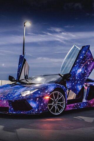 Galaxy Huracan
