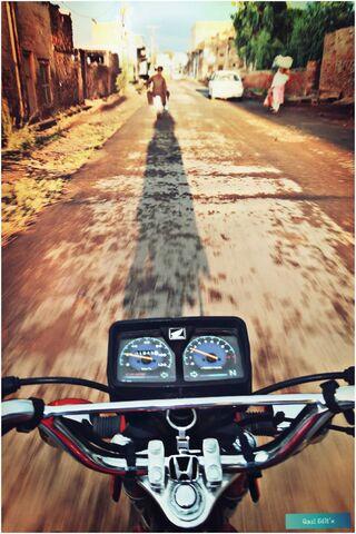 自行车骑美
