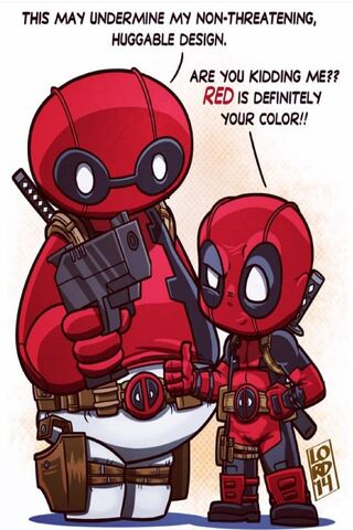 Baymax and Deadpool