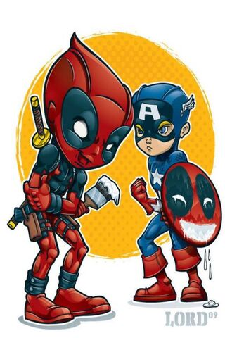 Deadpool and Cap