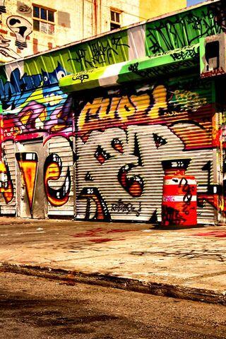 Graffiti đường 3D