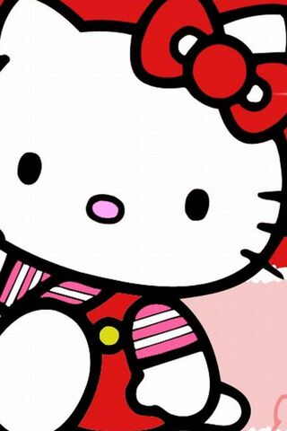 Hello Kitty Pink Red