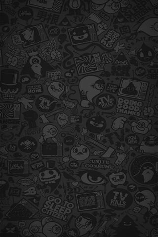A Dark Cartoon Wallpaper Download To Your Mobile From Phoneky